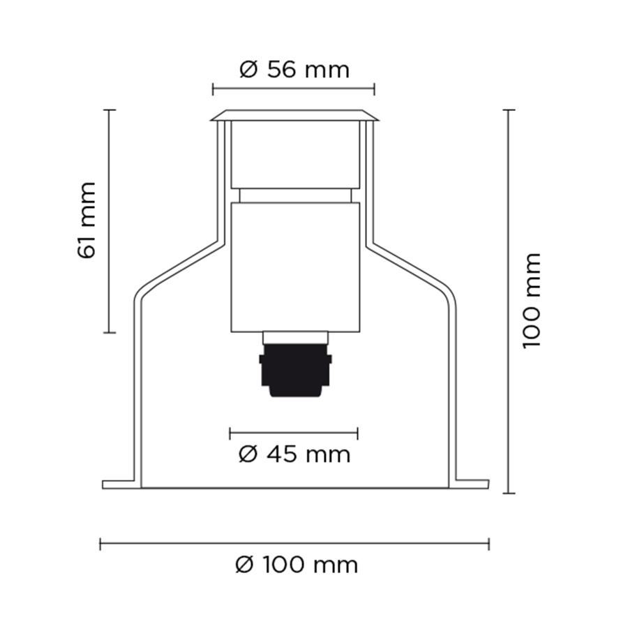 Scheda tecnica 201002 HYDROFLOOR SMALL LED 3W