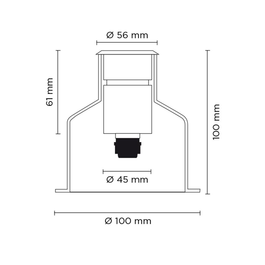 Scheda tecnica 201061 HYDROFLOOR SMALL SOFT LED 1.5W