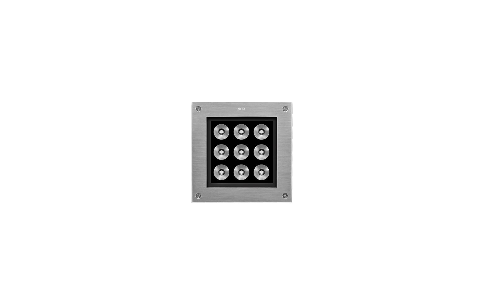202008 HYDROQUADRO MEDIUM LED 14W 3