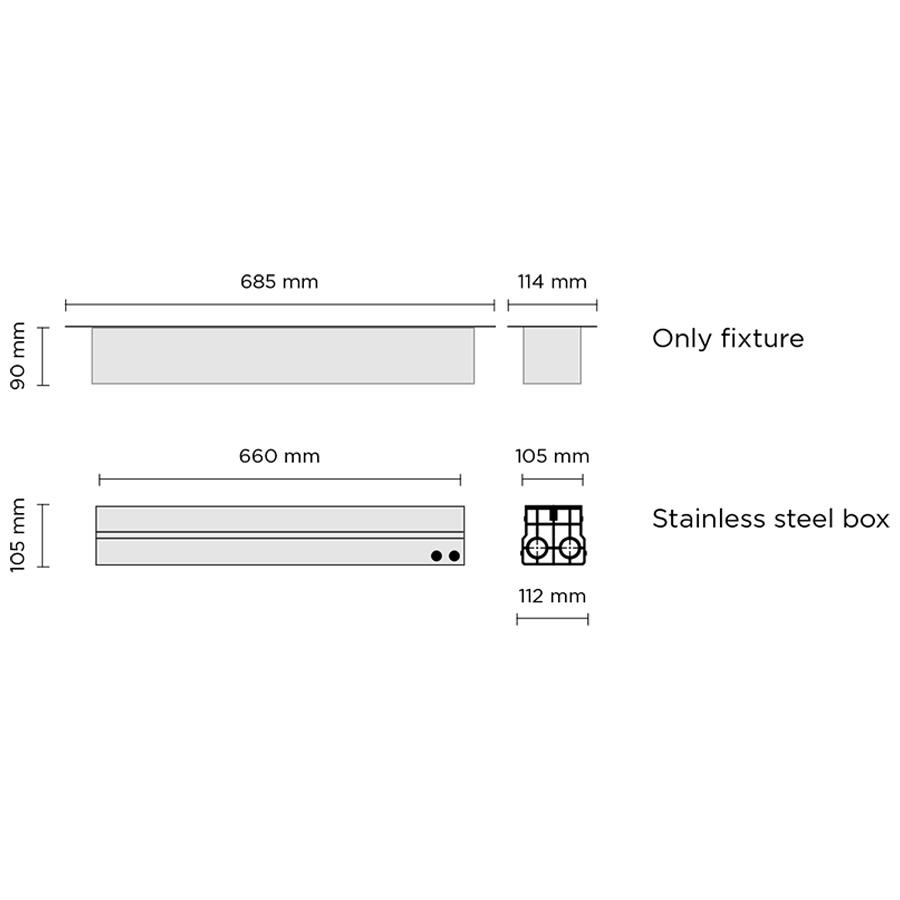 Scheda tecnica 203003 LINE 13 LED 19.5W