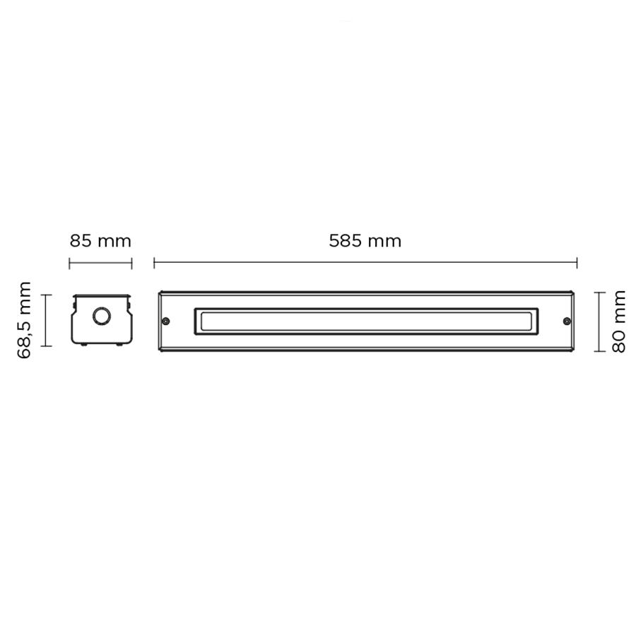 Scheda tecnica 203005 LINE SLIGHT 17 LED 21W