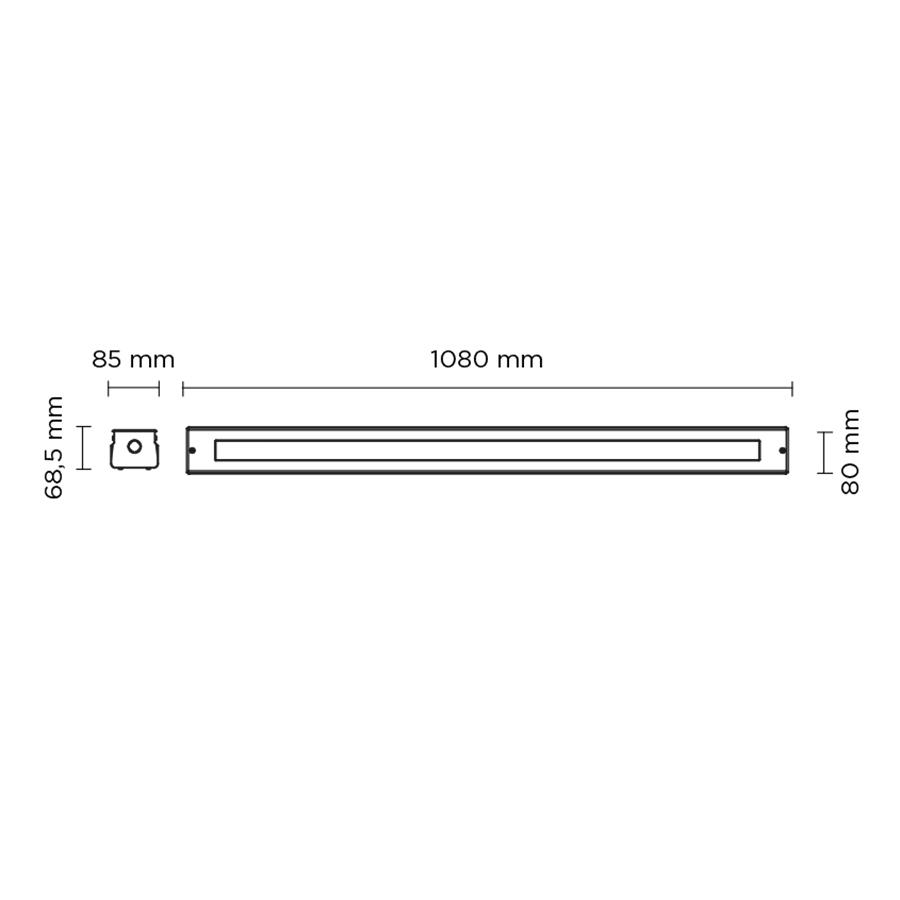 Scheda tecnica 203006 LINE SLIGHT 35 LED 39W