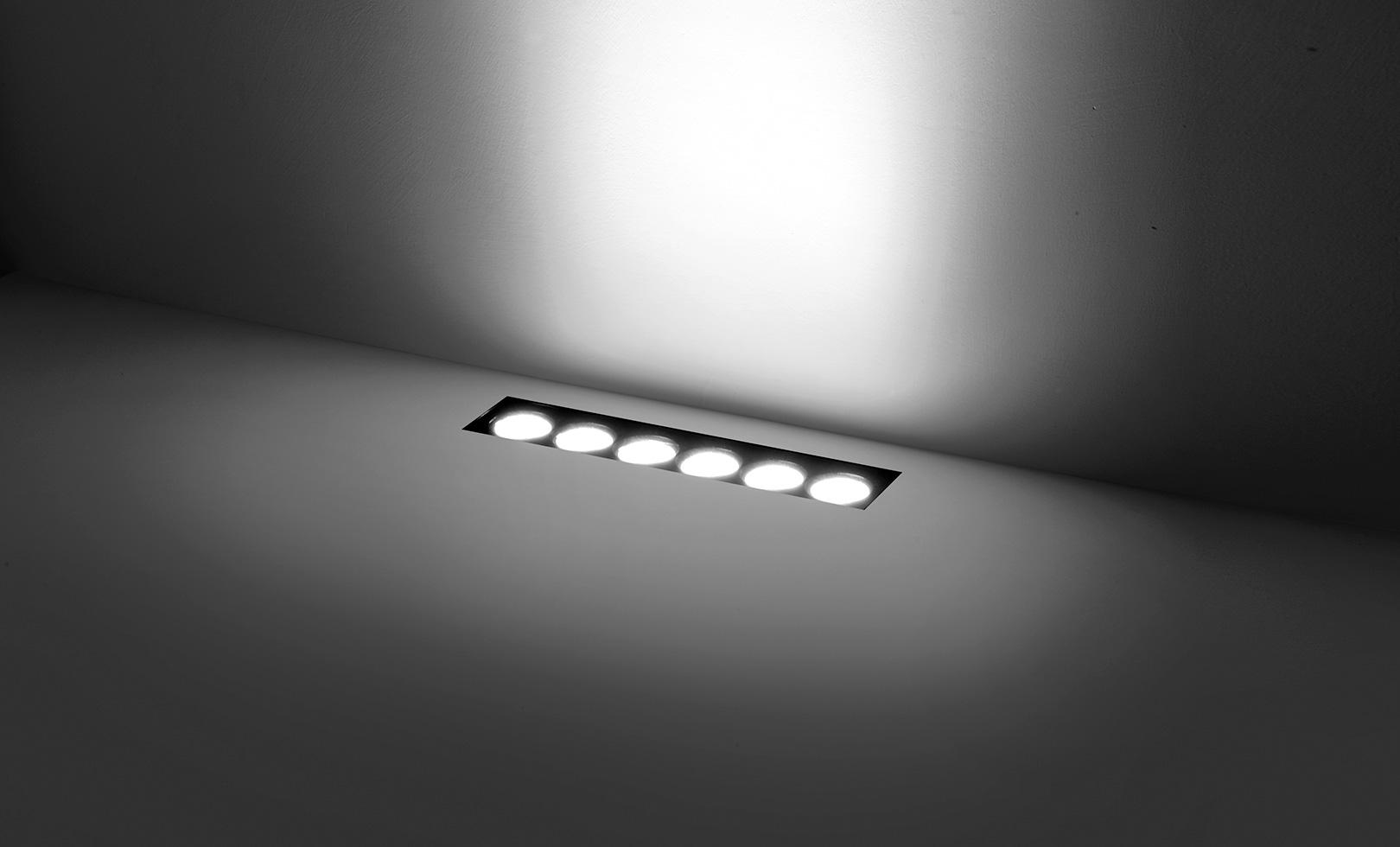 205002 HYDROFLOOR VETRO LINEAR LED 10W 1