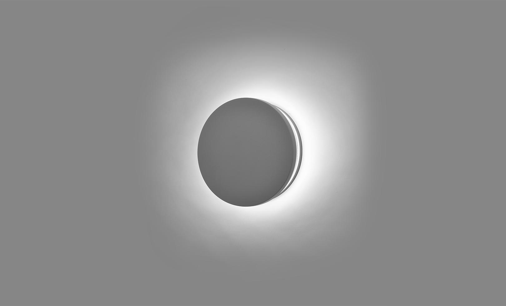 401705 ECLIPSE MEDIUM ROUND LED 12W 1