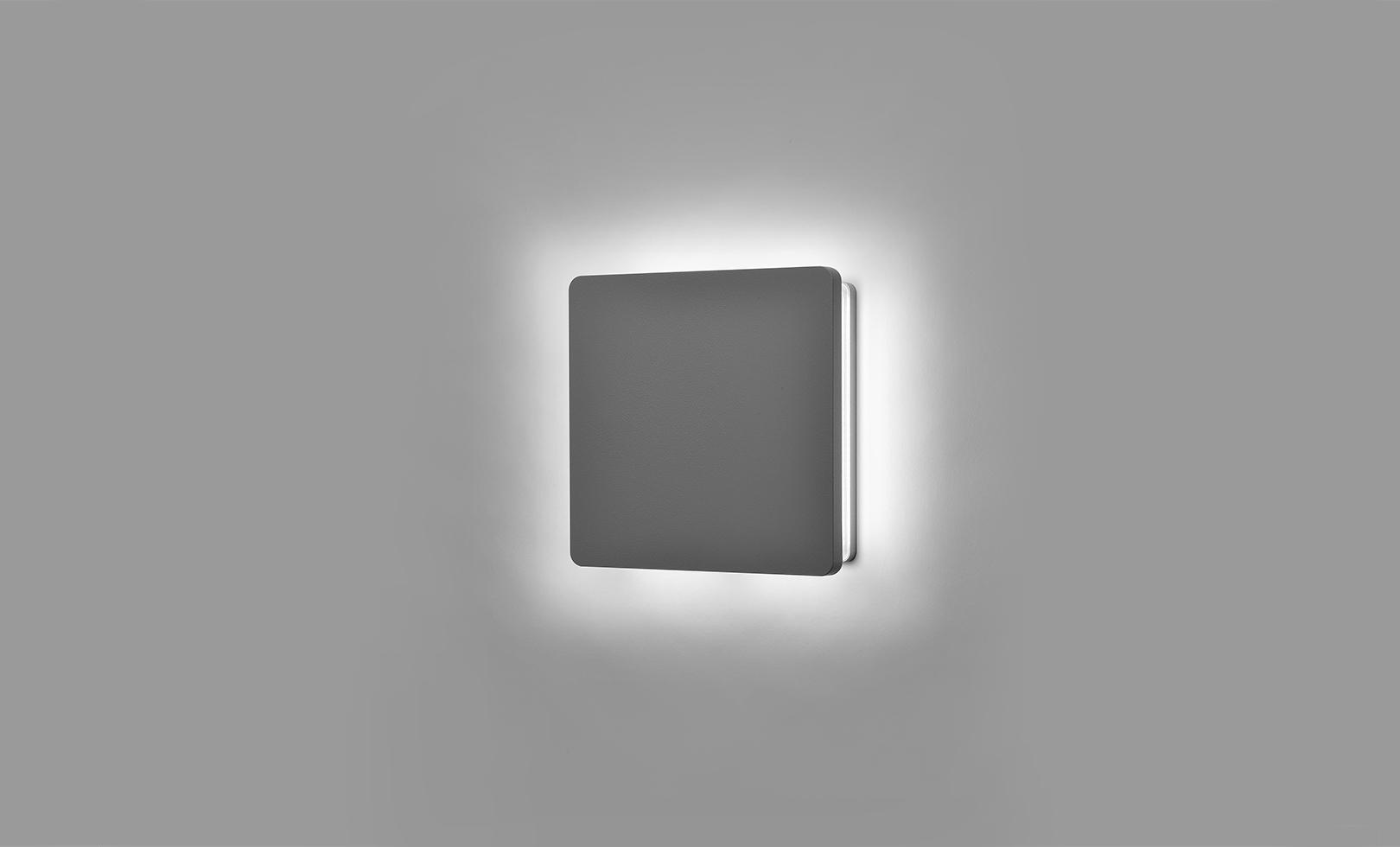 401706 ECLIPSE MEDIUM SQUARE LED 14W 1