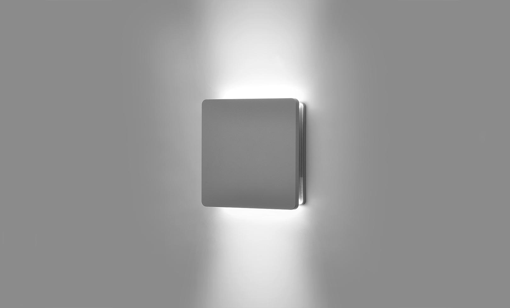 401708 ECLIPSE MEDIUM SQUARE 02 LED 19W 1