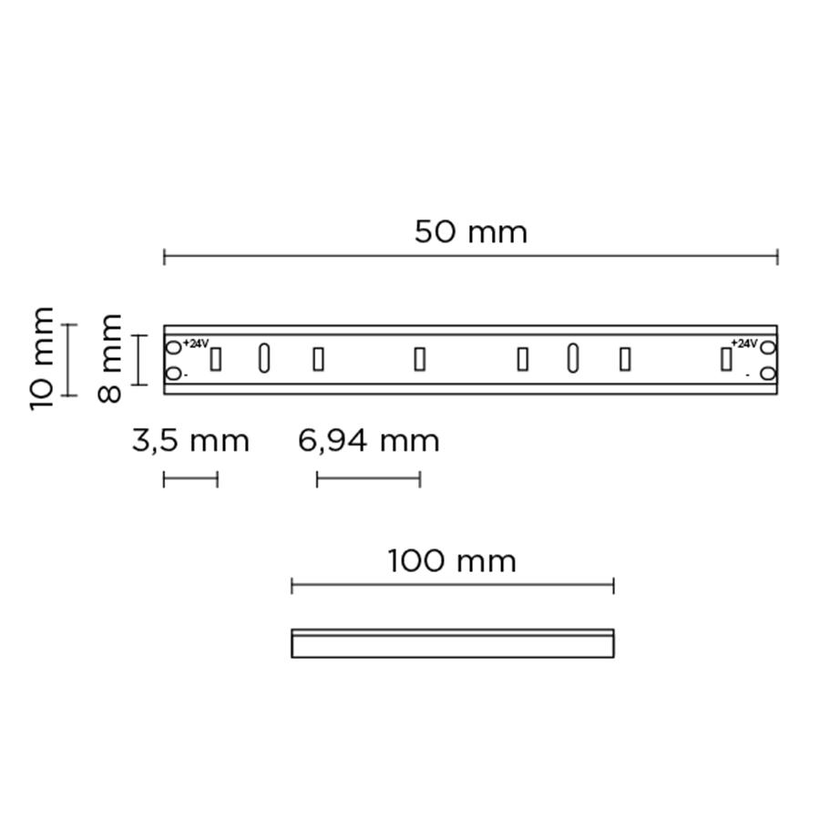 Scheda tecnica 401804 HYDROFLEX SIDE LED
