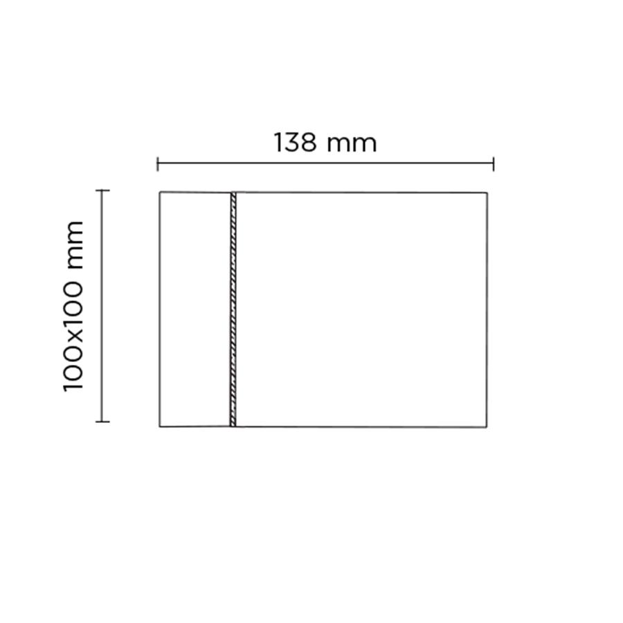 Scheda tecnica 402202 CUBE 02 LED 2 x 7.5W