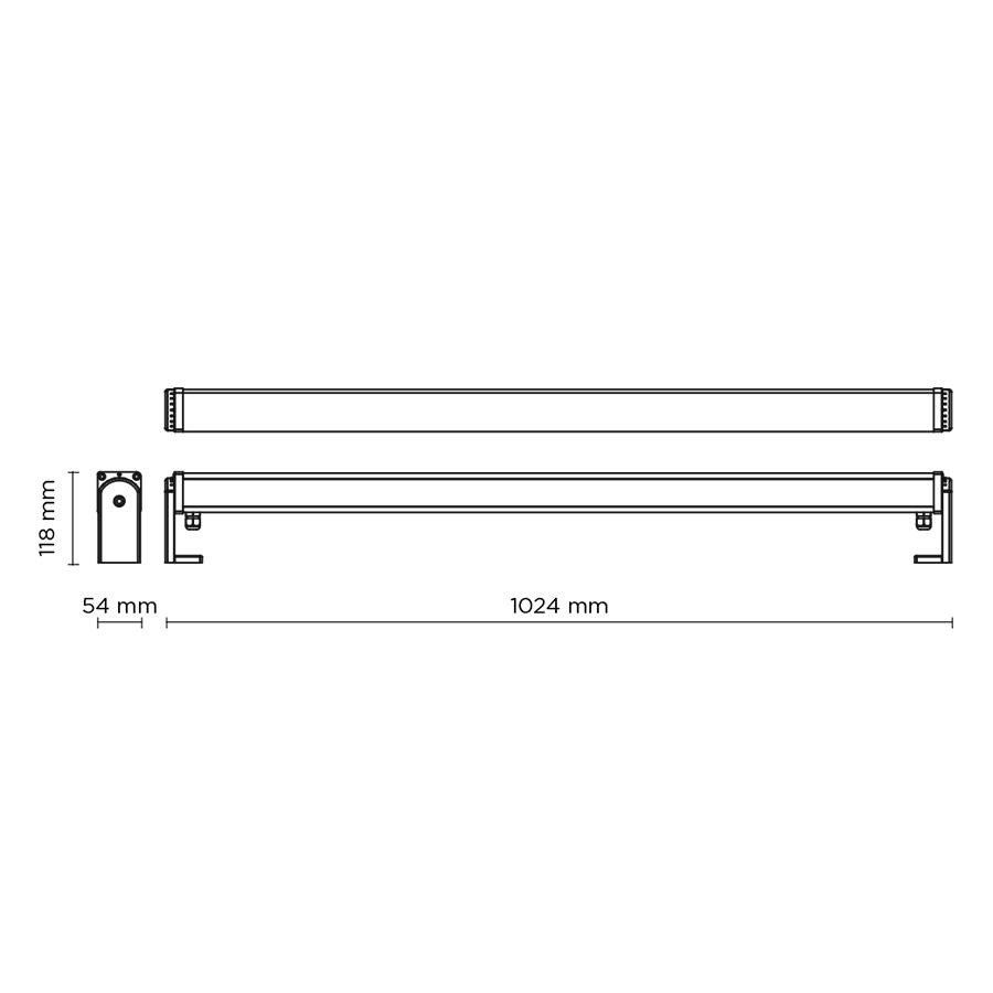 Scheda tecnica 403006 LINE-B SLIGHT 35 ARMS LED 39W