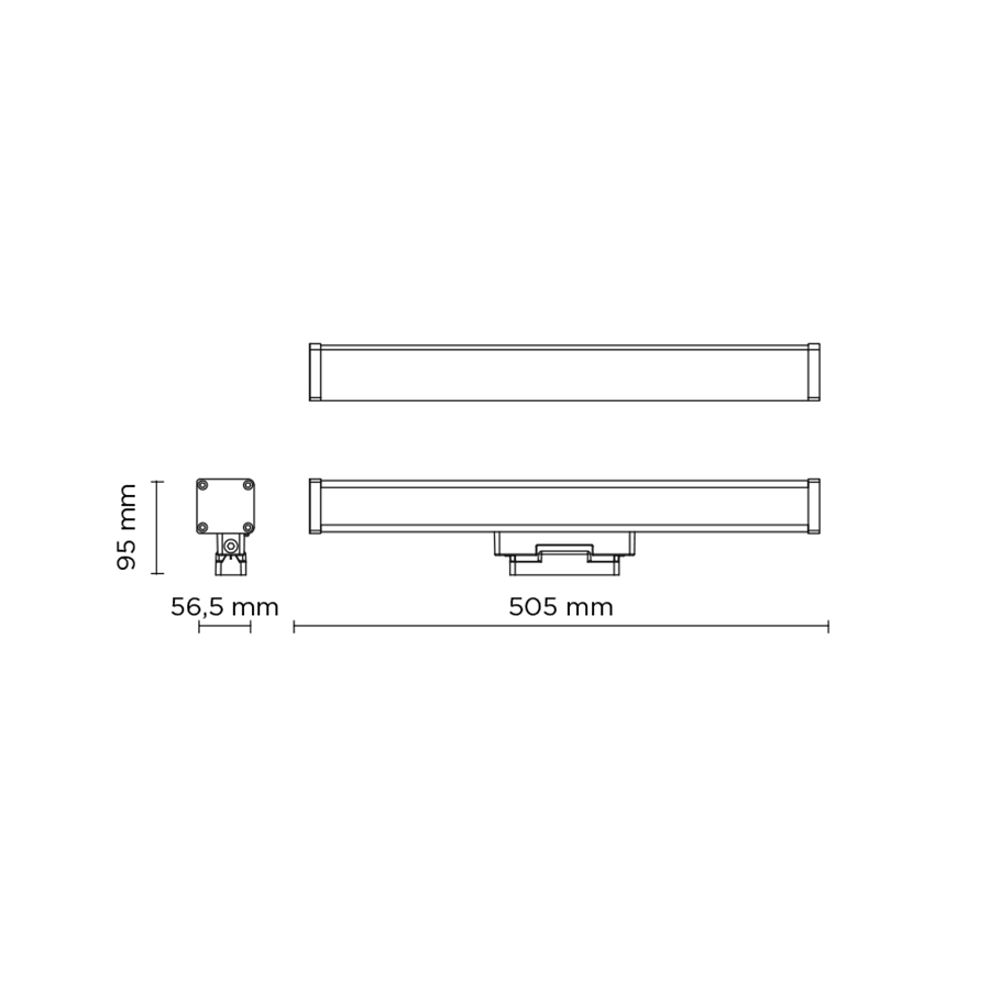 Scheda tecnica 403007 LINE-B SLIGHT 17 BASE LED 21W