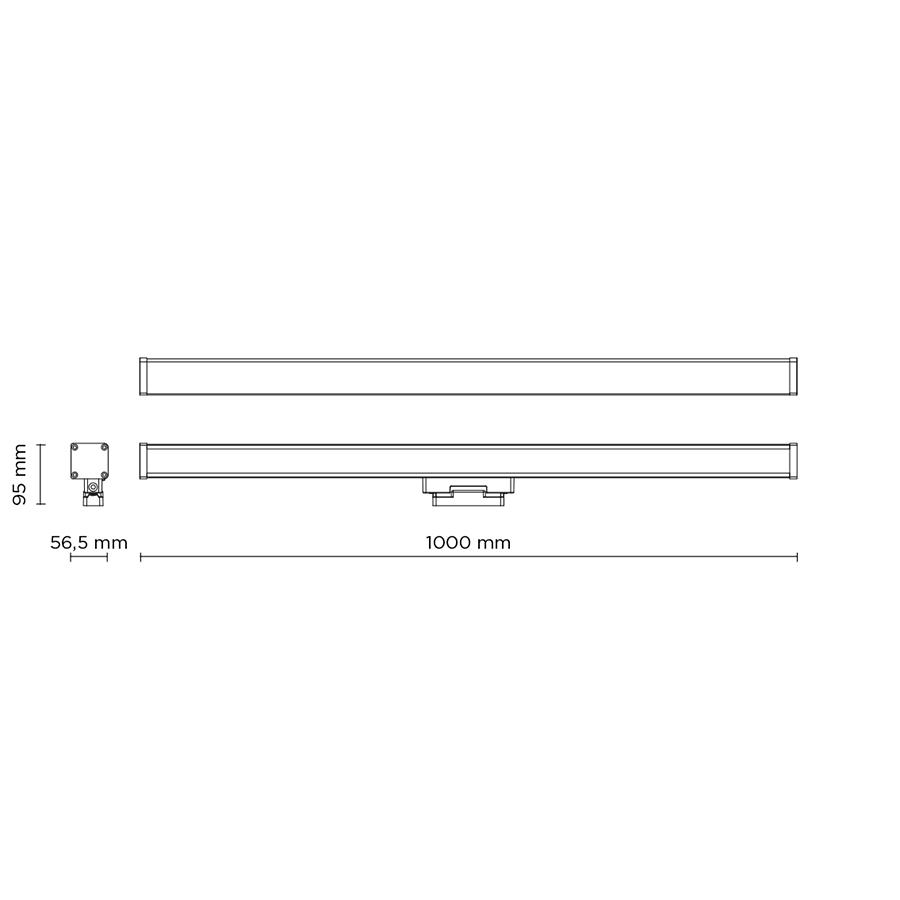 Scheda tecnica 403008 LINE-B SLIGHT 35 BASE LED 39W