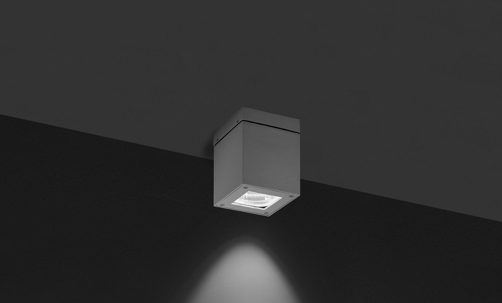 706007 TECH MEDIUM  03 SQUARE LED 26W 1