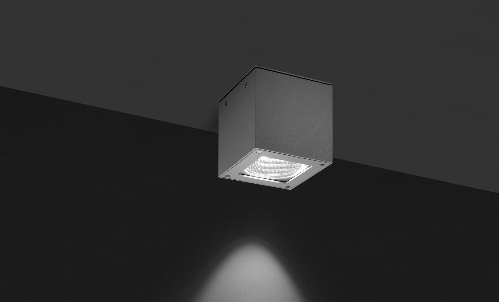 706011 TECH MEDIUM COMPACT 03 SQUARE LED 20W 1