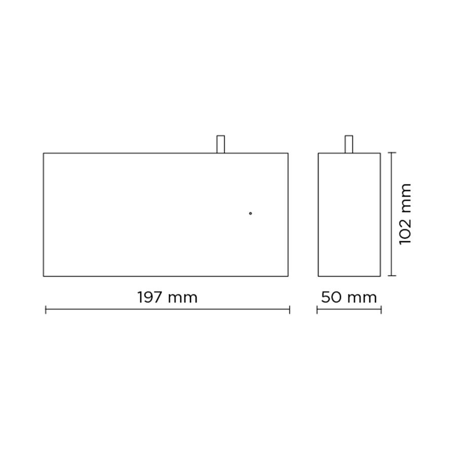Scheda tecnica 708002 TAG MEDIUM 03 LED 8W