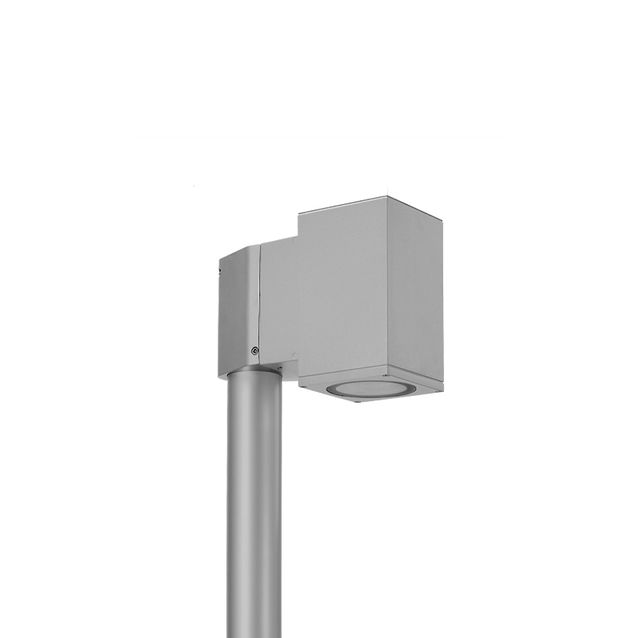804003 SINGLE TECH POLE-TOP MEDIUM 01 SQUARE  LED 1x8W 5