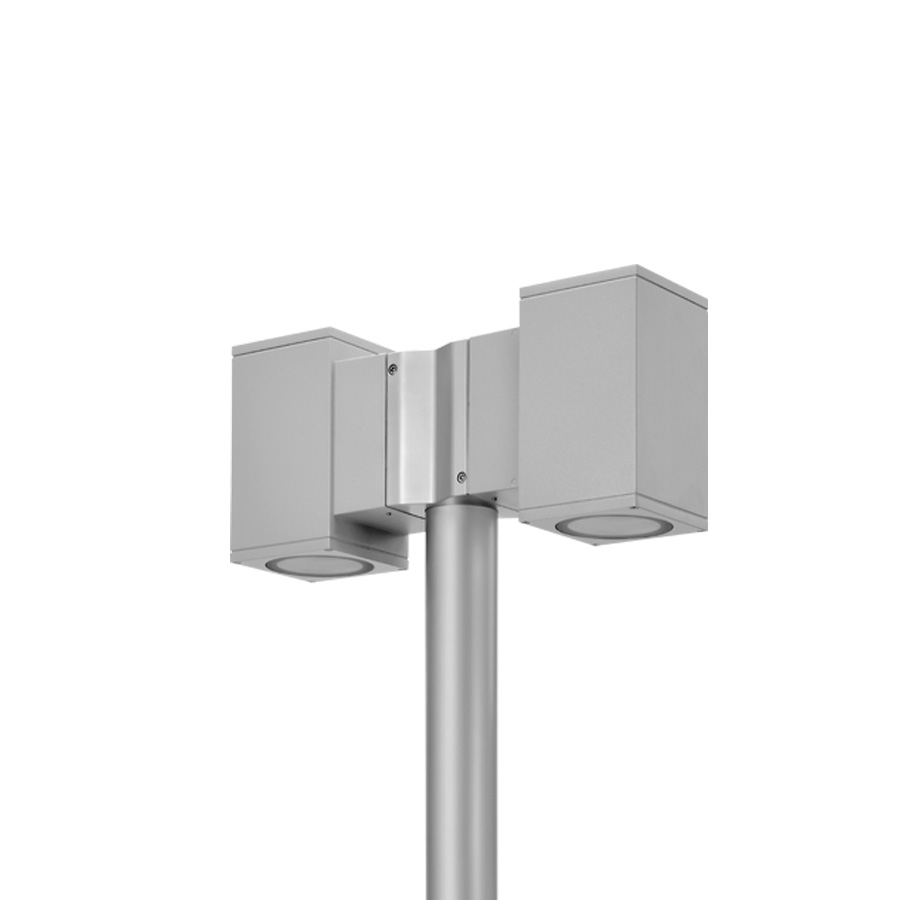 804008 DOUBLE TECH POLE-TOP MEDIUM 01 SQUARE PRO LED 2x14W 7