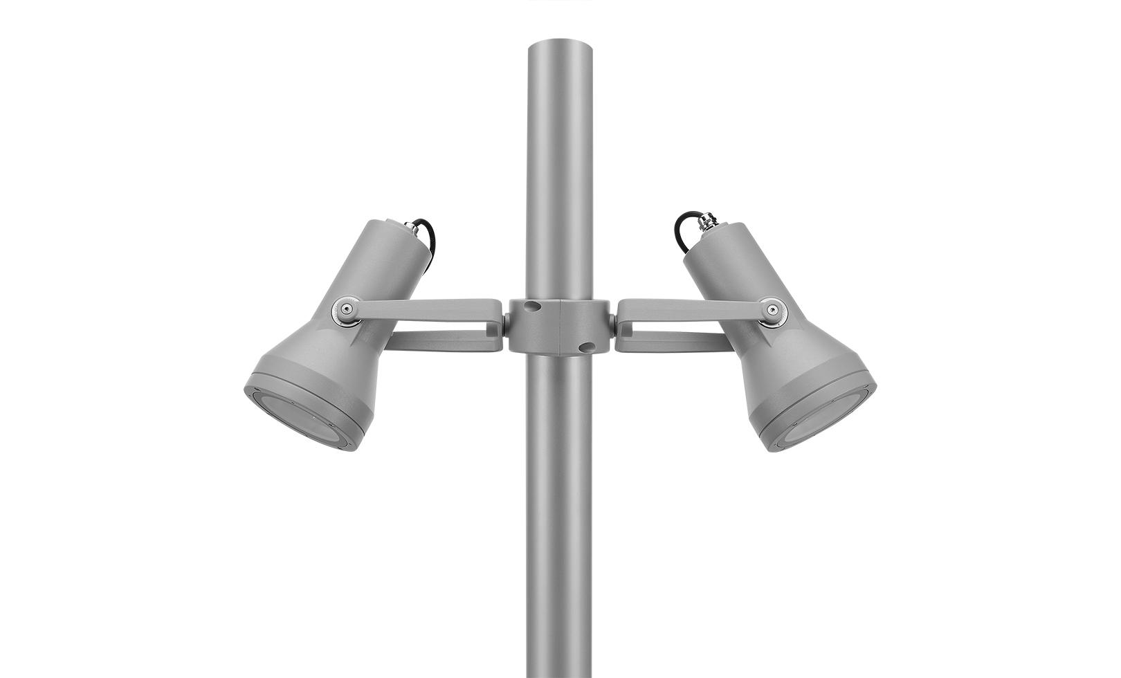 805002-805006 FLASH POLE MEDIUM COB LED 18W 4
