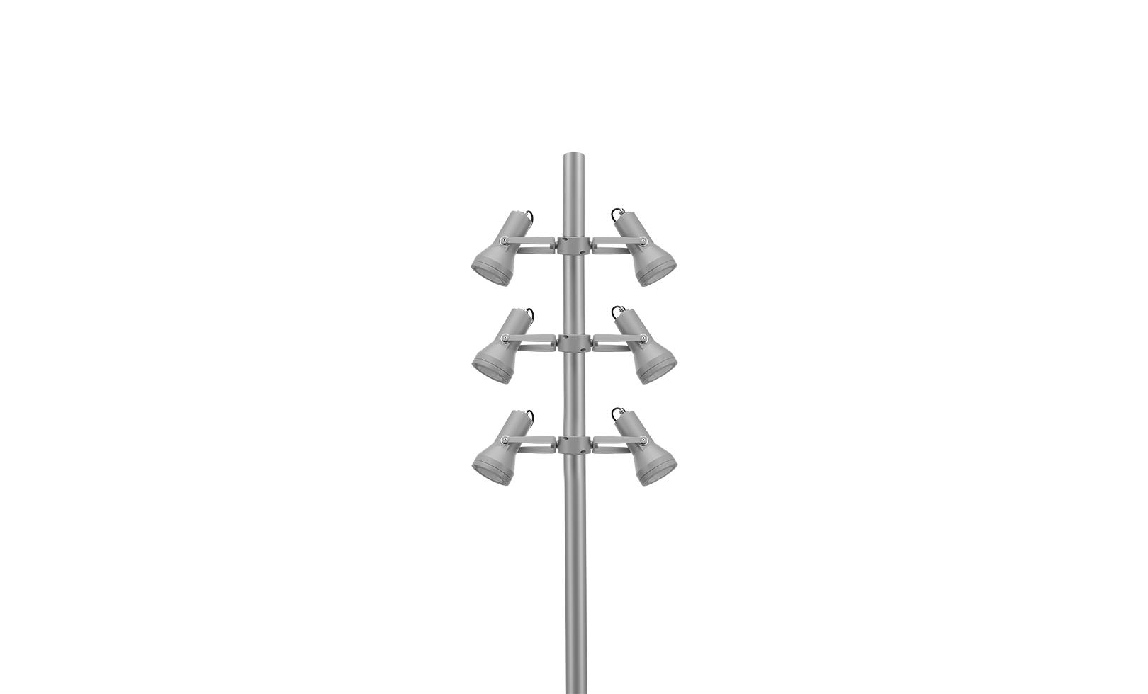 805002-805006 FLASH POLE MEDIUM COB LED 18W 5