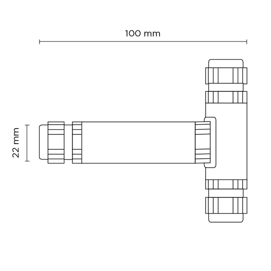 Scheda tecnica AC006 HYDROCONNECT-03 – 3 WAYS