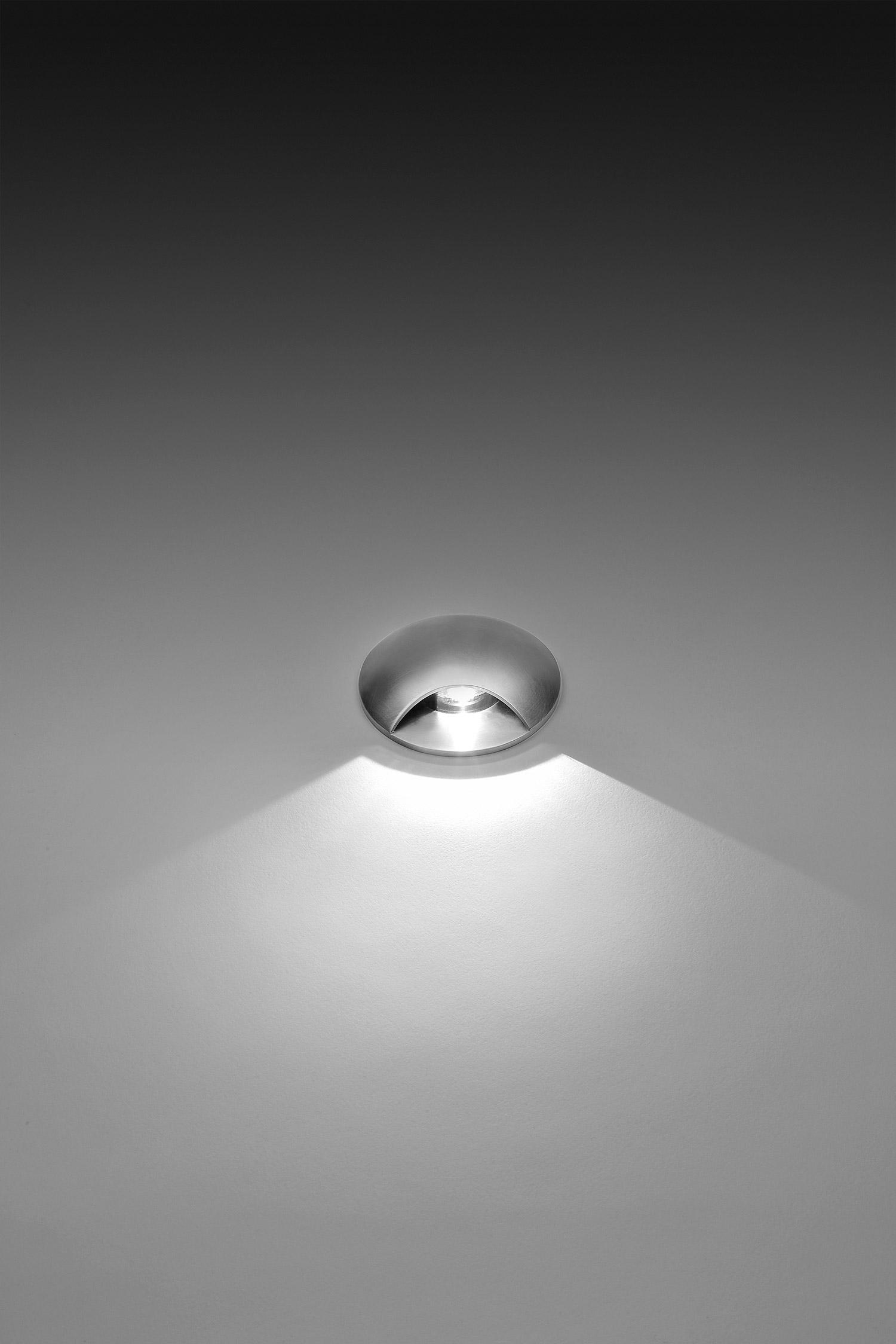 201065 HYDROFLOOR MICRO STEEL 01 LED 3W 1