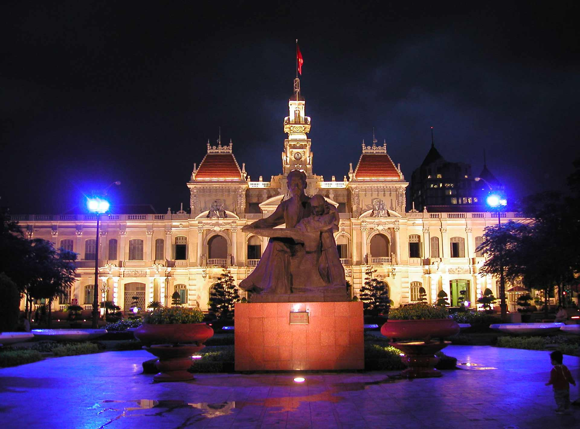 Ho Chi Minh City Hall 4