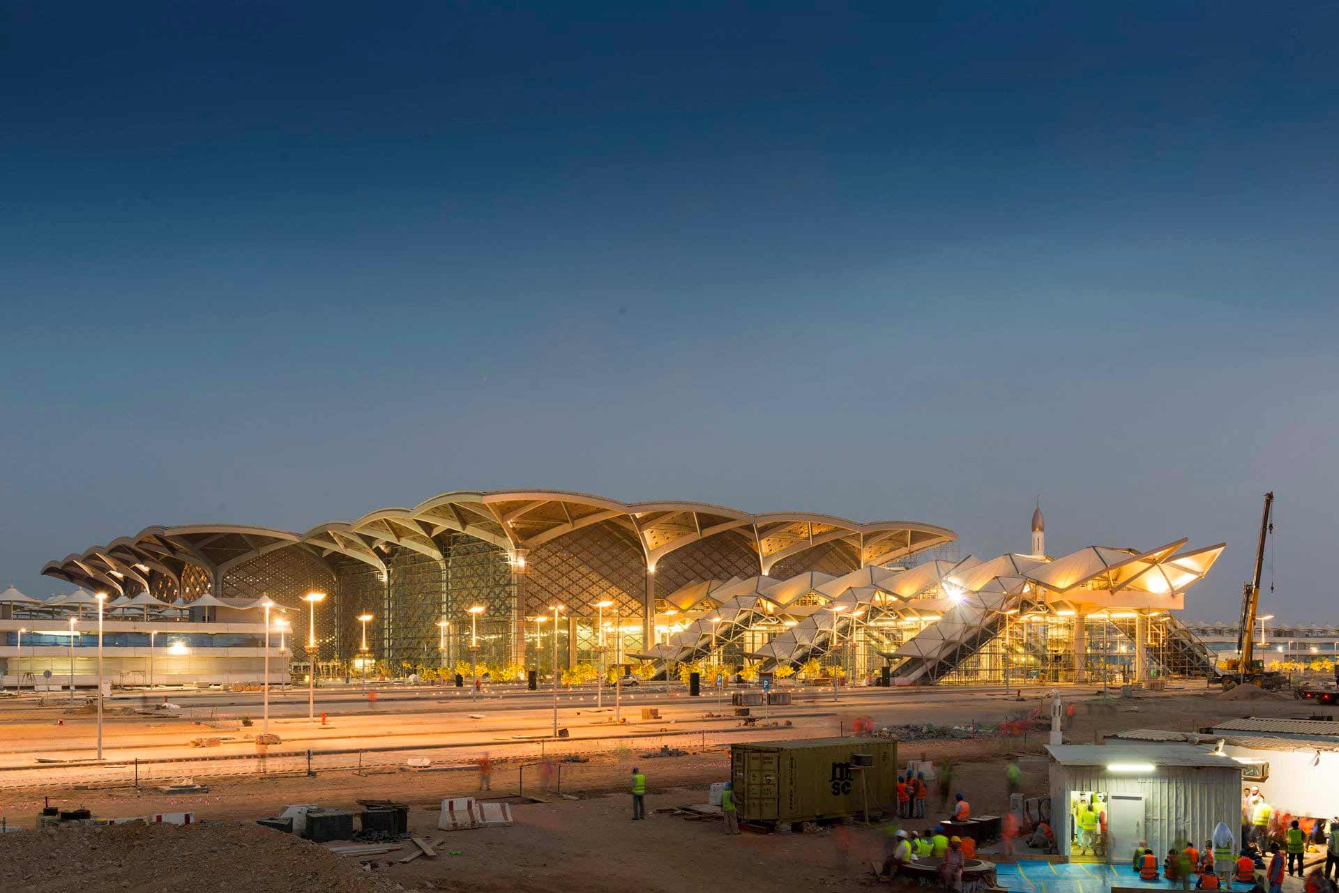 Haramain High Speed Rail Jeddah Station