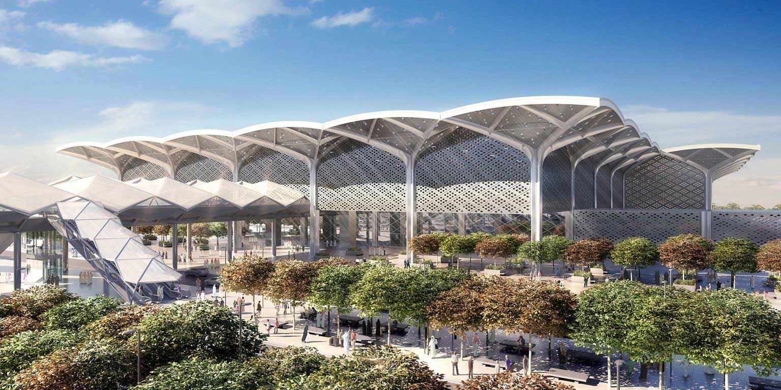 Haramain High Speed Rail Mekkah Station 1