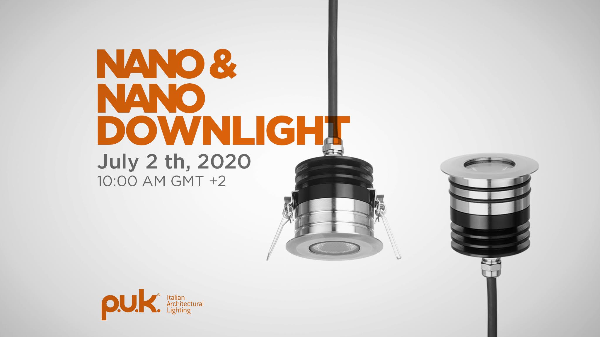 Nano e Nano Downlight