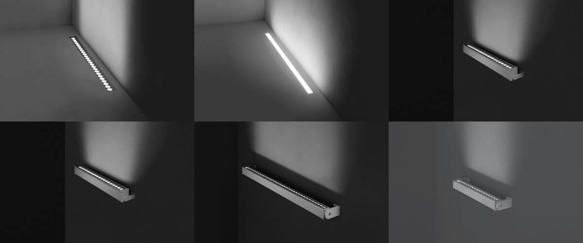 Sleekness and functionality: linear lighting options