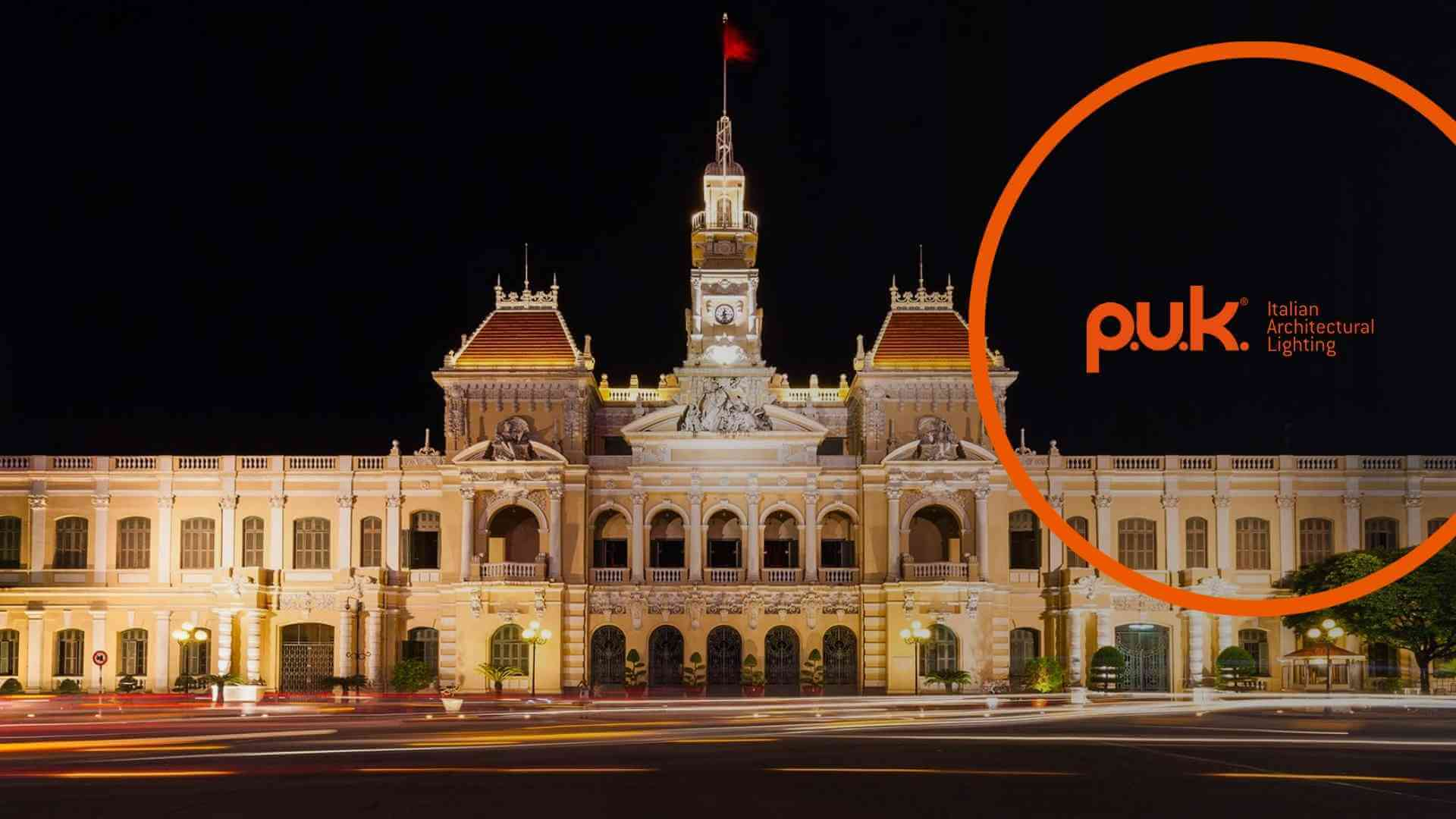 Ho Chi Minh City Hall lighting design: project focus