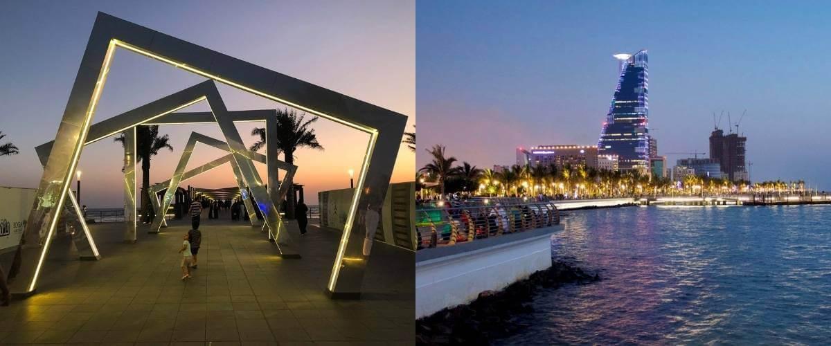 PUK's Jeddah Corniche