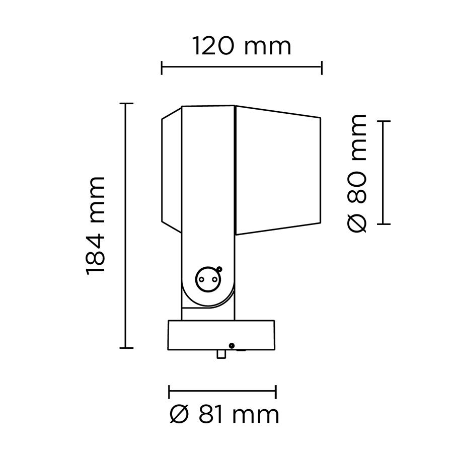 Scheda tecnica 101404RGBW RING MINI DMX