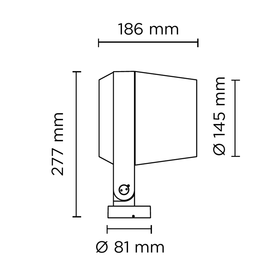 Scheda tecnica 101406RGBW RING MAXI DMX RGBW