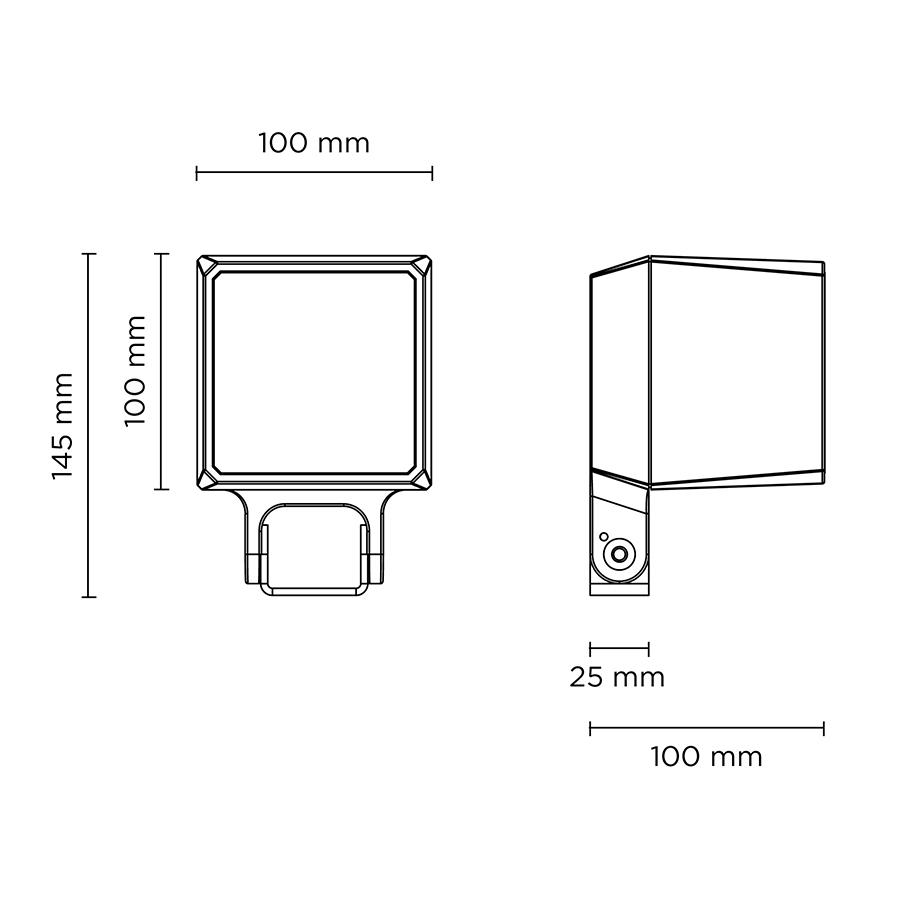 Scheda tecnica 101605RGBW QUBO MINI DMX RGBW