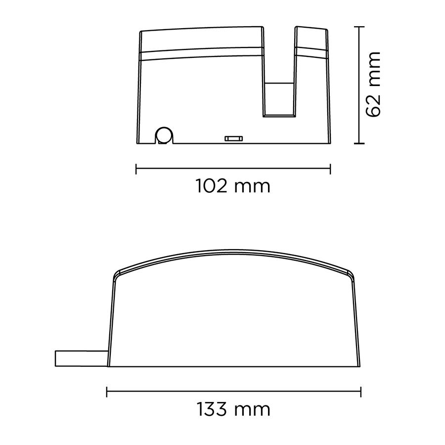 Scheda tecnica 401102RGBW WAVE 2.0 DMX RGBW